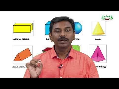 ஜியாமெட்ரி பாக்ஸ் Std 9 Maths கனச்செவ்வகம் Kalvi TV