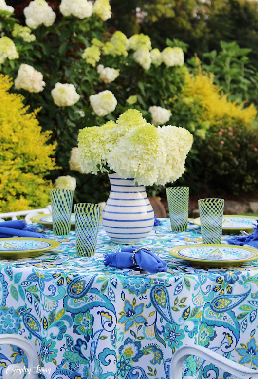 Tablescape Tuesday: Lovely Limelights