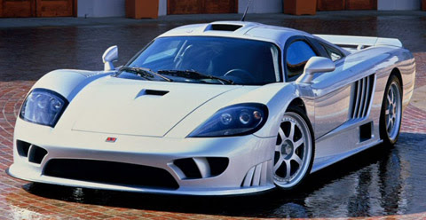 Saleen S7 Twin Turbo white
