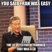Image result for fran meme