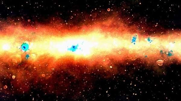 الفلك : مجرة درب التبانة : صور جديدة لم تُر من قبل لمركز مجرتنا