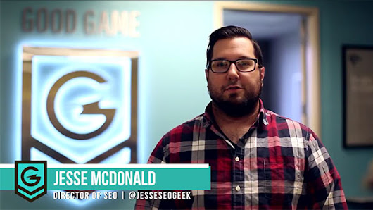 Interview with the SEO Director of Geek Powered Studios Jesse McDonald