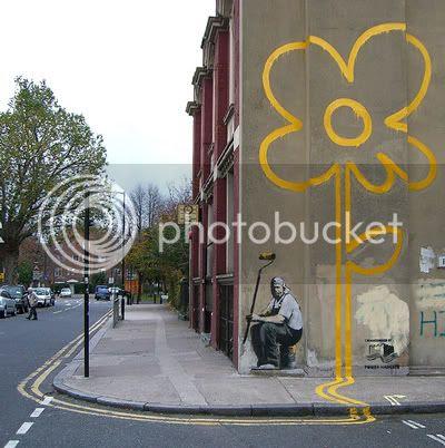 Banksy Flower