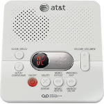 AT&T - 1740 Digital Answering Machine with Time/Day Stamp