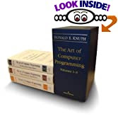 Donald Knuth's The Art of Computer Programming, Volumes 1-3 Boxed Set
