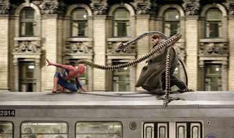 Spider-Man 2 wins Best Visual Effects.