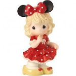 Disney minnie mouse you fill my world with sunshine porcelain figurine