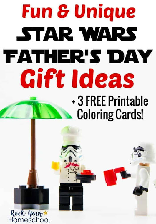 Fun & Unique Star Wars Father's Day Gift Ideas - Rock Your Homeschool