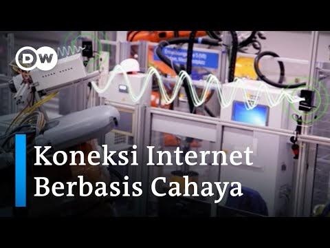 LiFi Jaringan Internet Nirkabel Supercepat Berbasis Cahaya