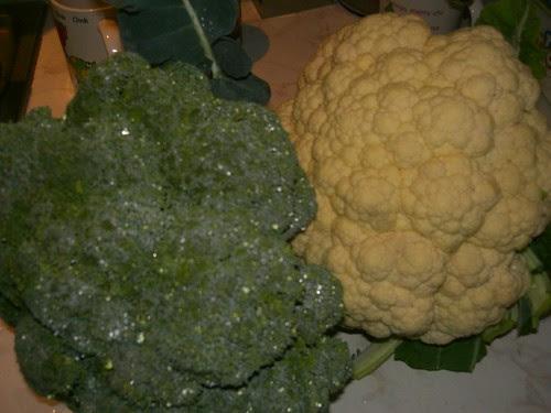 broccoli cauliflower