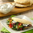 Fabulous Baker Brothers spiced lamb flatbreads with Quark