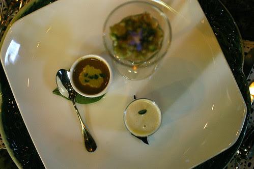 three soups