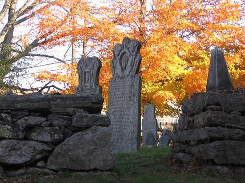 Old Storrs Cemetery by midgefrazel