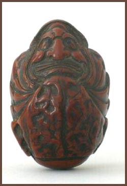 Kurumi Walnut carving