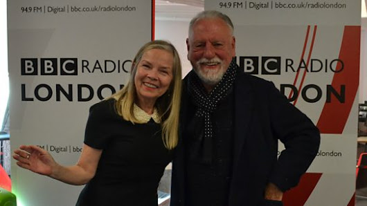 With Kenneth Cranham, Dr. David Jack and Caroline Jones