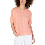 Eileen Fisher Womens Tunic Sweater Pink PL