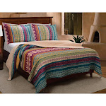 Greenland Home Fashions Southwest Quilt Set Twin
