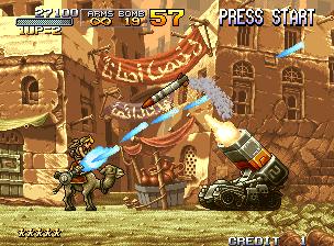 โหลดเกมฟรี Metal slug 2