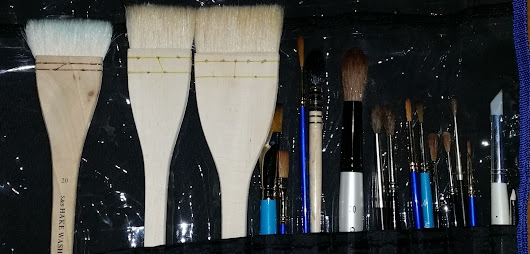 How to look after you paint brushes