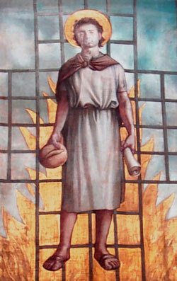 Image of St. Lawrence - Martyr
