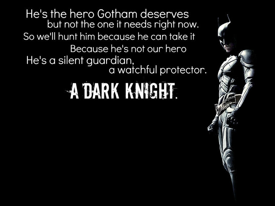 The Dark Knight Quotes 3