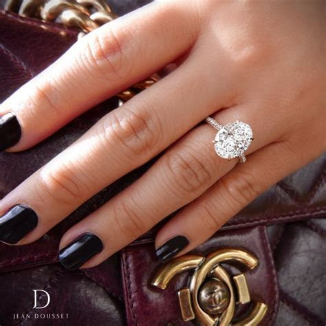 Best 20  Oval solitaire engagement ring ideas on Pinterest