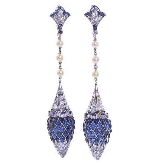 Spectacular Diamond Earrings glamour featured earings diamond | http://preciousdiamondgallery.blogspot.com