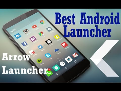 5 star Rated Launchers For Android | Arrow Launcher | Your Search Ends Here