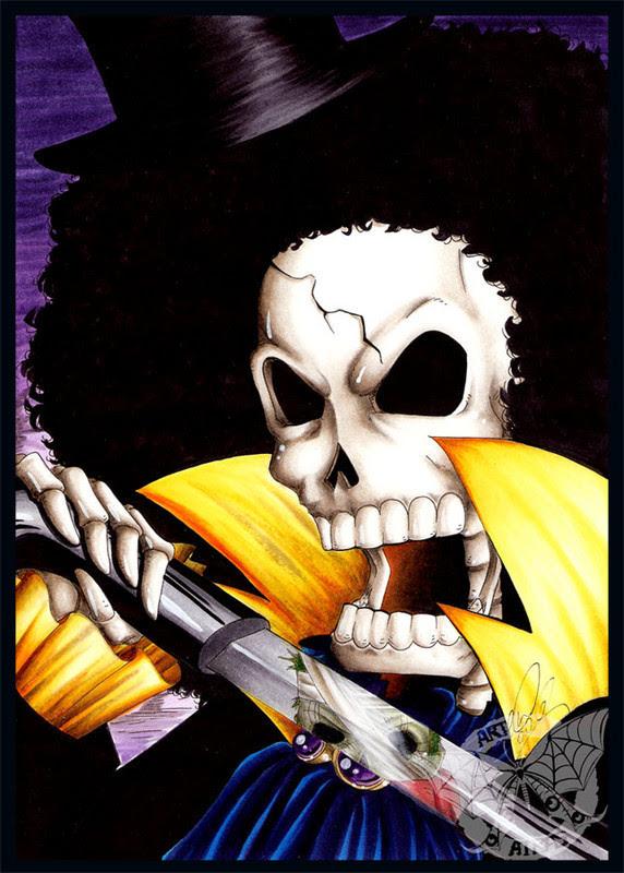 Brook One Piece Wallpaper Hd Bang Tarom