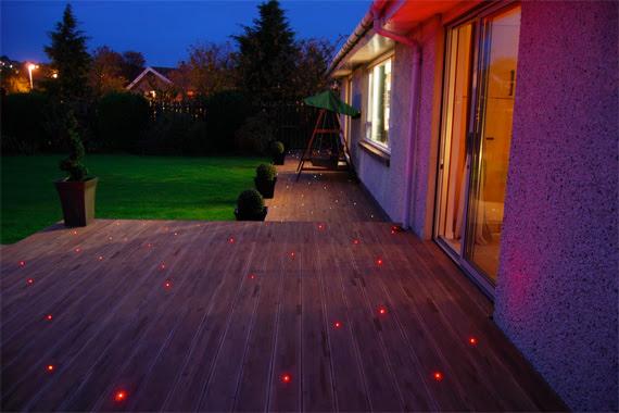 Deck Lighting Ideas   Deck Stair Lighting   HouseLogic Lighting Tips
