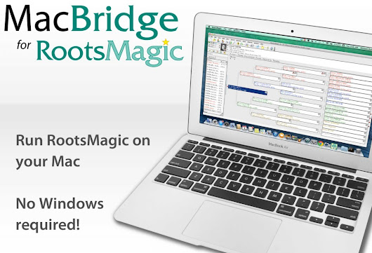 RootsMagic Blog    » Announcing MacBridge: Run RootsMagic on Your Mac without Windows