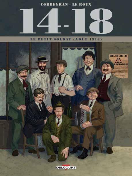 """Résultat de recherche d'images pour """"14-18 bd tome 1"""""""