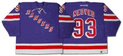 New York Rangers 02-03 jersey, New York Rangers 02-03 jersey