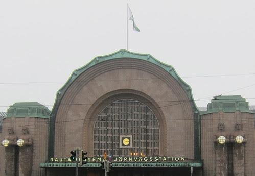 Helsingin rautatieasema by Anna Amnell