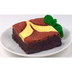 David's Cookies Uniced Cheese Cake Brownie 4oz (PACK OF 48)
