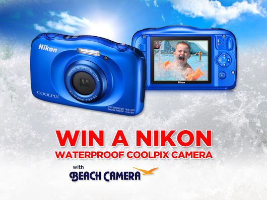 Beach Camera is giving away a Nikon Coolpix S33 Camera!