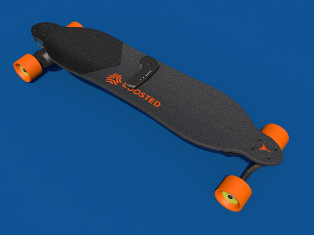 Boosted Board 3d model Cinema 4D files free download  modeling 41381 on CadNav