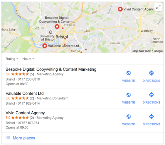 The Benefits of Local Content Marketing