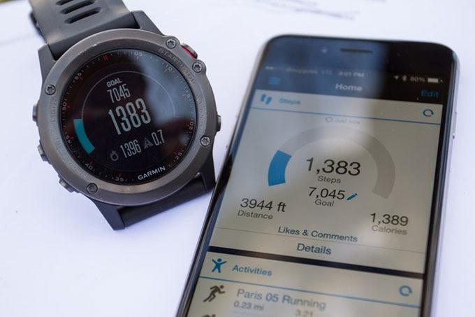 Умные мультиспортивные часы Garmin fenix 3. Трекер активности и мониторинг сна