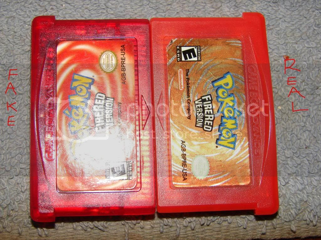 Pokemon Fire Red  Fake or not Fake?  GBAtemp.net  The