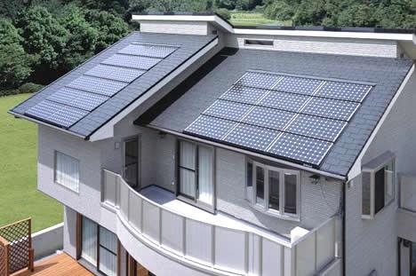 Home solar cells