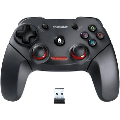 Dreamgear DGPS3-3881 Shadow Pro Wireless Controller for PS3 & PC