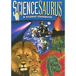 Great Source Sciencesaurus: Student Handbook Grades 4 - 5