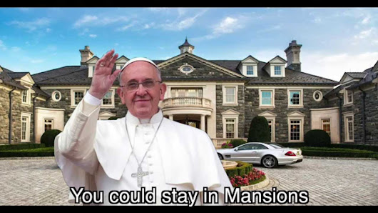 "POPE SONG ""Livin' in the Vatican"" (PARODY of ""Hall of Fame"" by The Script) ~ Rucka Rucka Ali - YouTube"