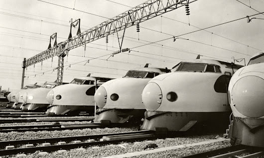 How the Shinkansen bullet train made Tokyo into the monster it is today