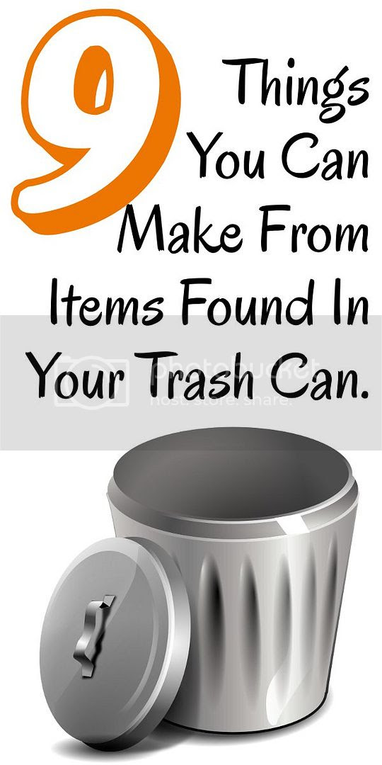 Diy home sweet home 9 things you can make from items for How can i recycle things at home