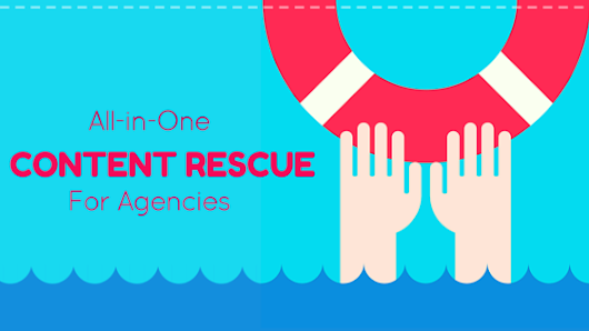 Content Emergency? Meet the Marketing Agency Rescue Plan! - Alisa Meredith - Inbound Content Marketing with Pinterest