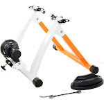 Conquer Indoor Bike Trainer Exercise Stand Orange