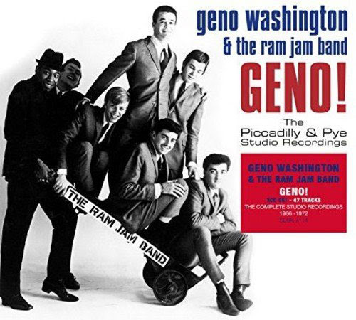 Geno Washington - Geno! The Piccadilly & Pye Studio Recordings and Live! box set (Demon Records) | Modculture
