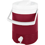 Igloo Legend 2 Gallon Cooler Red/white